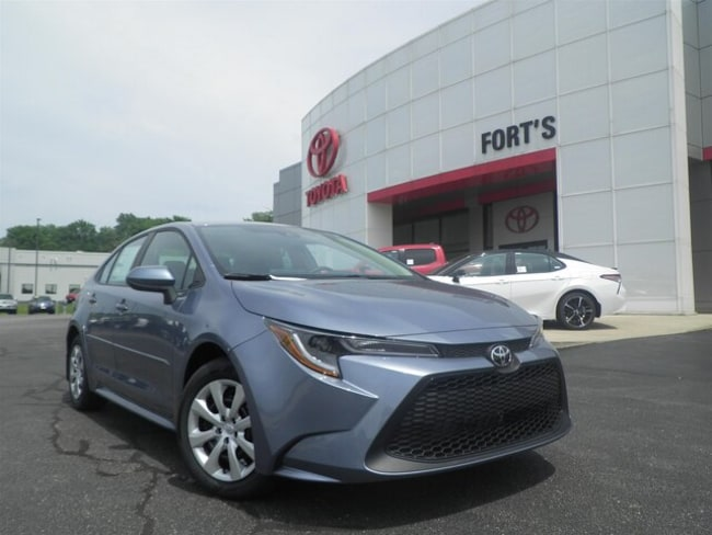 New 2020 Toyota Corolla LE Sedan For Sale in Pekin, IL
