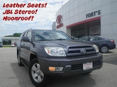 Bargain Used Cars  2005 Toyota 4Runner Limited V6 SUV For Sale in Pekin IL