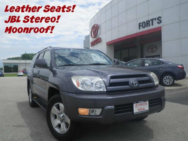 Used 2005 Toyota 4Runner Limited V6 SUV For Sale in Pekin, IL