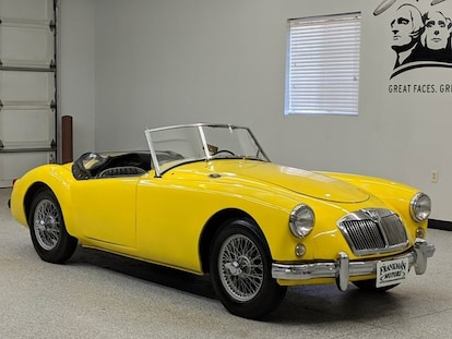 Used 1958 MG MGA For Sale in Sioux Falls, SD   0000000HDR4321518