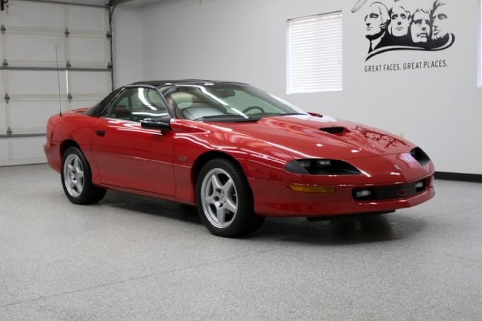 1996 Chevrolet Camaro Z28 Coupe Classic Car For Sale in Sioux Falls, South Dakota