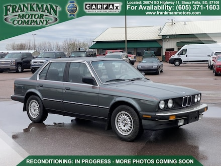 1986 BMW 3 Series 325e Sedan
