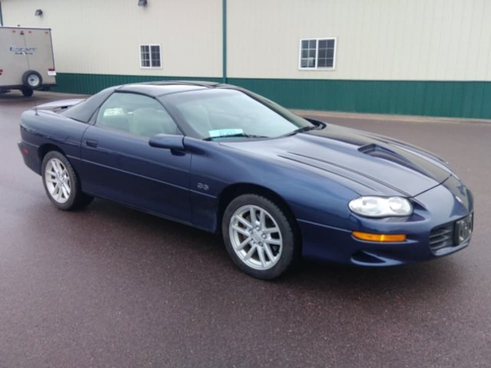 2001 Chevrolet Camaro Z28 Coupe Classic Car For Sale in Sioux Falls, South Dakota