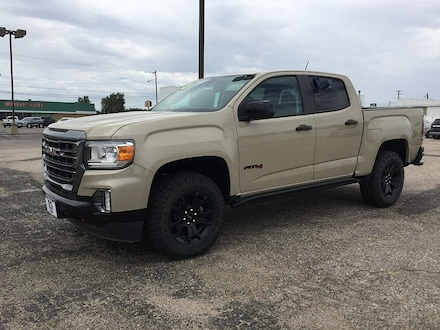 2021 GMC Canyon 4WD AT4 w/Leather Compact Truck