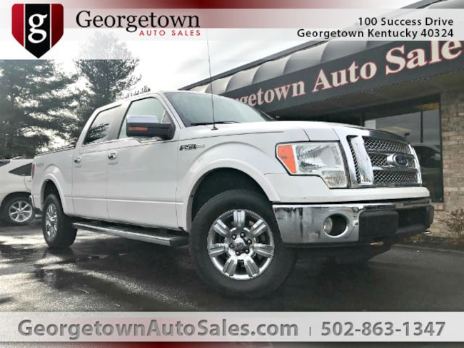 Used  2010 Ford F-150 Lariat Truck SuperCrew Cab in Georgetown, KY