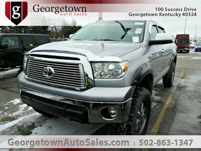 Used  2010 Toyota Tundra Limited 5.7L V8 Truck Crew Max in Georgetown, KY