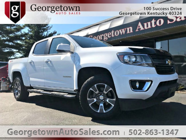 Used  2016 Chevrolet Colorado Z71 Truck Crew Cab in Georgetown, KY