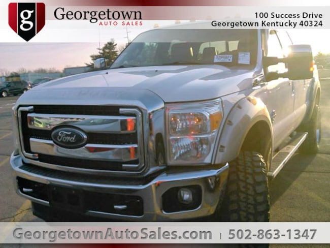 Used  2014 Ford F-250 XLT Truck Crew Cab in Georgetown, KY