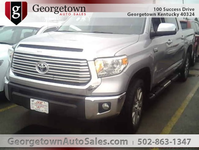 Used  2015 Toyota Tundra Limited 5.7L V8 Truck CrewMax in Georgetown, KY
