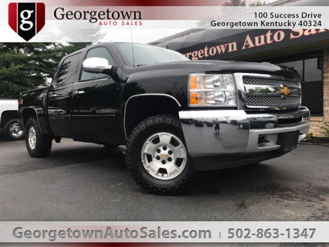 Used  2013 Chevrolet Silverado 1500 LT Truck Crew Cab in Georgetown, KY
