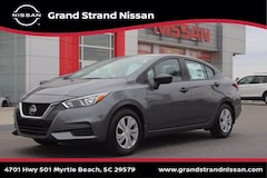 New 2021 Nissan Versa 1.6 S Sedan in Myrtle Beach, SC