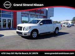 Pre-Owned 2019 Nissan Titan SV Truck Crew Cab in Myrtle Beach, SC