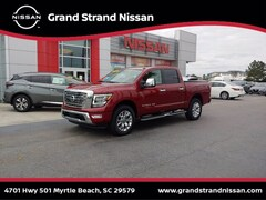 Pre-Owned 2020 Nissan Titan SL Truck Crew Cab in Myrtle Beach, SC