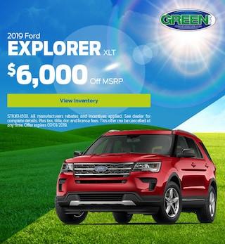 2019 Explorer June Offer