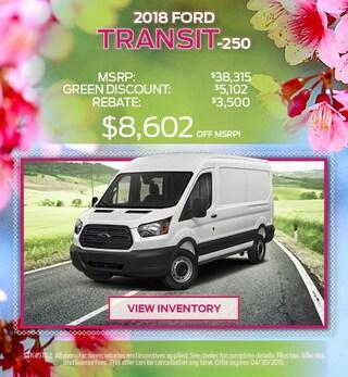 2018 Transit April Offer