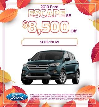 2019 Ford Escape Discount