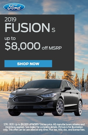2019 Fusion Offer