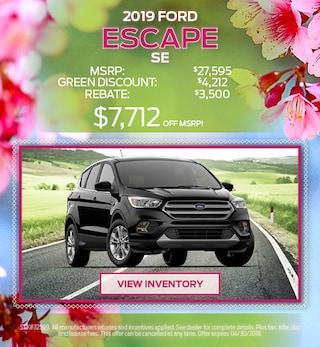 2019 Escape April Offer