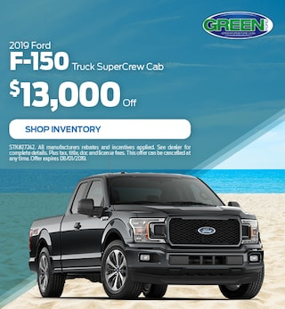2019 Ford F-150 $13,000 off- July