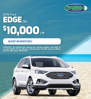 2019 Ford Edge $10,000 off- July