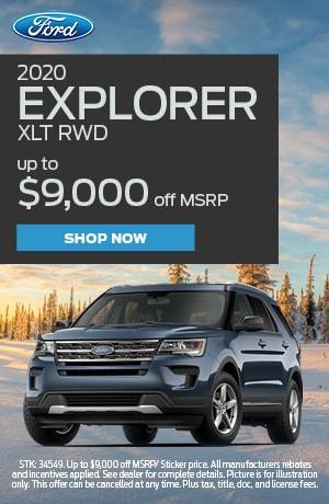 2020 Explorer Offer
