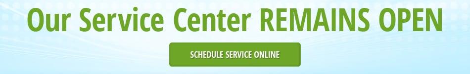 Service Center Open