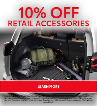 10% Off Retail Accessories
