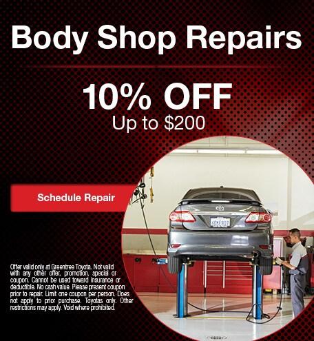 Body shop reparis