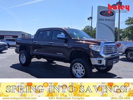 2017 Toyota Tundra 4WD Limited Limited CrewMax 5.5 Bed 5.7L