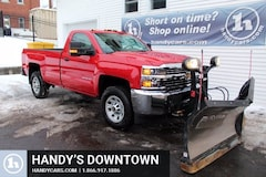2015 Chevrolet Silverado 3500HD Plow Truck Truck Regular Cab
