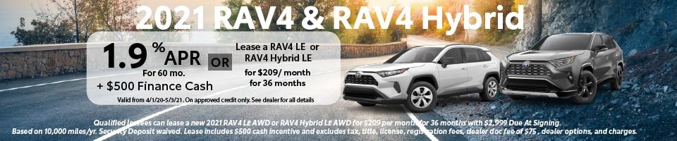 2021 RAV4 & RAV4 Hybrid