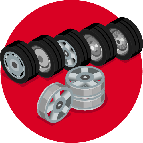 How to rotate your Toyota tires at Johnstons Toyota in New Hampton