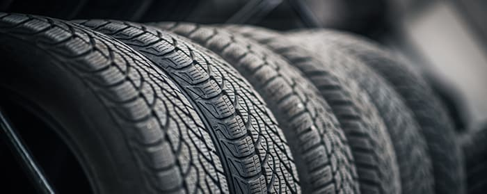 what different tire options are available at Johnstons Toyota in New Hampton