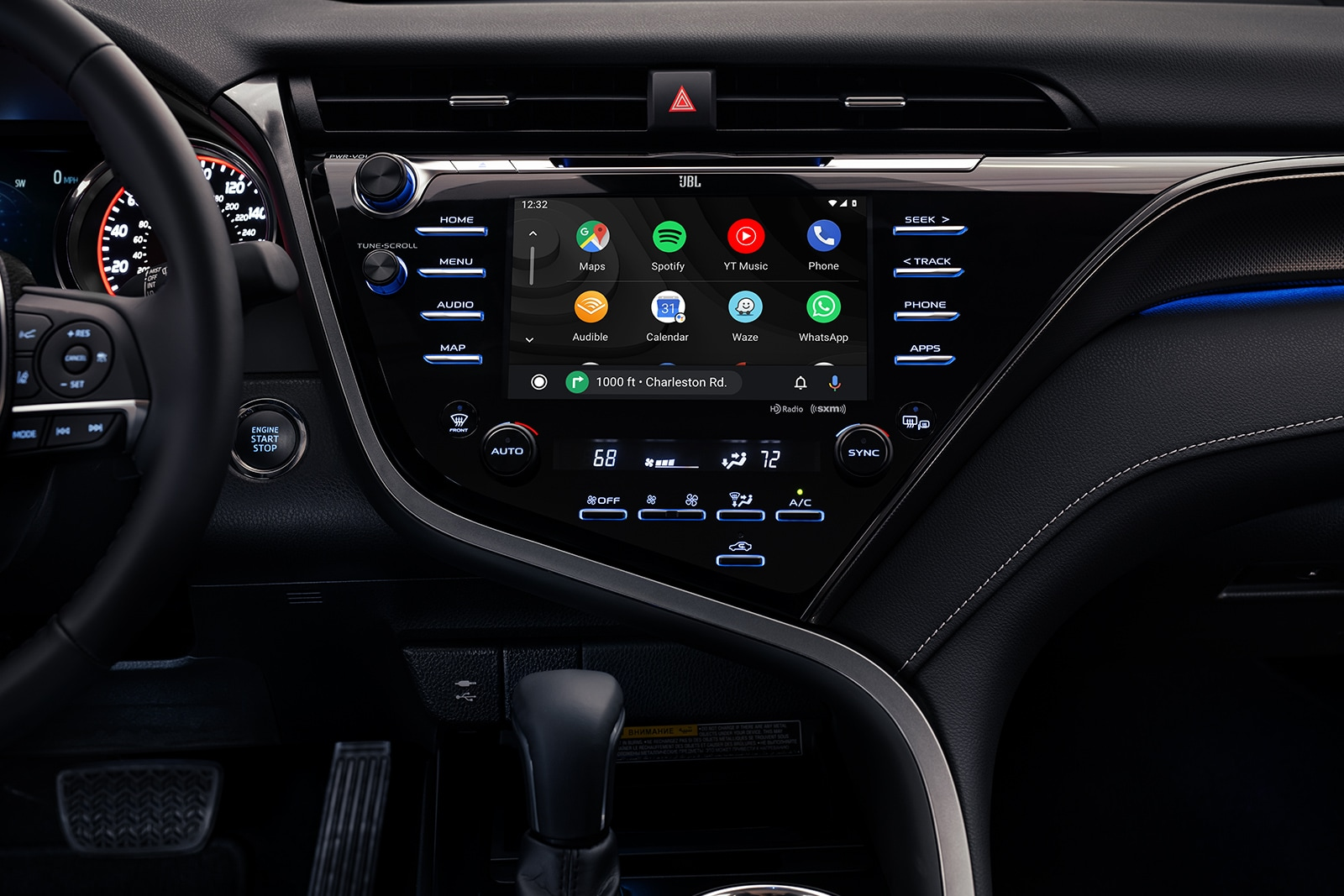 Model Features of the 2020 Toyota Camry at Johnstons Toyota of New Hampton | The technology of the 2020 camry