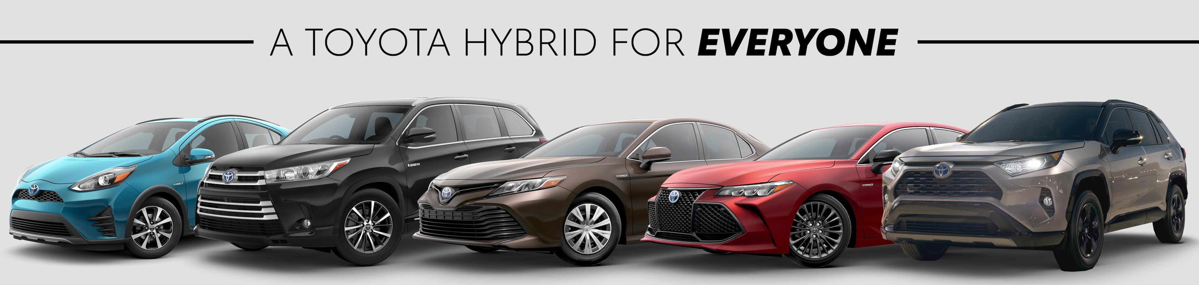 2019 Toyota Hybrids Johnstons Toyota