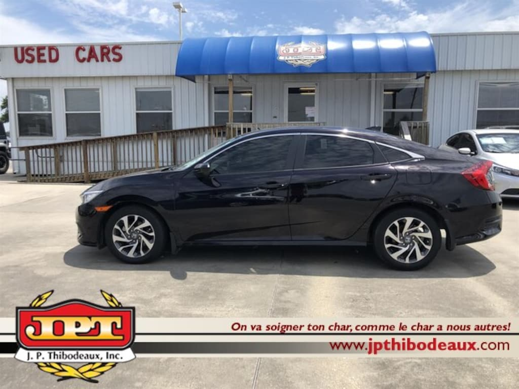 Used 2018 Honda Civic For Sale at J P  Thibodeaux Nissan
