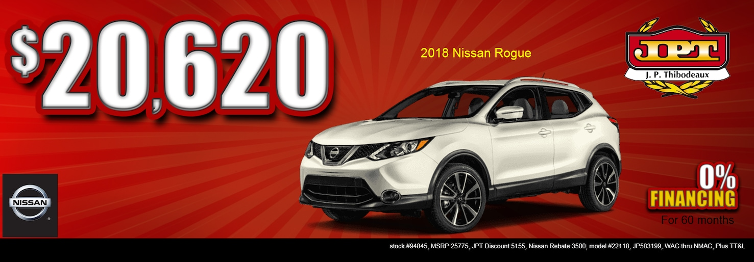 Jp Thibodeaux Used >> J.P. Thibodeaux Nissan | New Nissan dealership in New Iberia, LA 70560