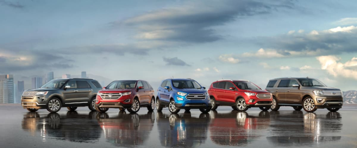 New Ford SUVs serving Mount Carmel IL