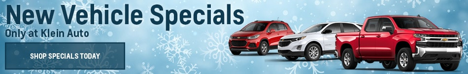 New Vehicle Specials Only at Klein Auto