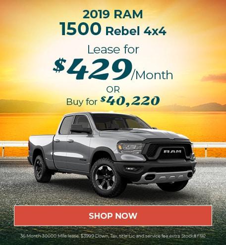 2019 Ram 1500 Rebel 4x4