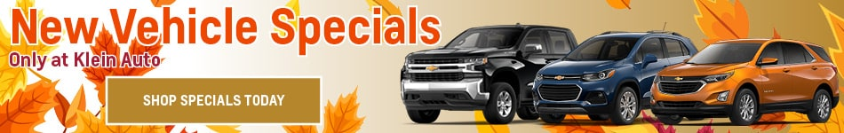 November New Vehicles Specials