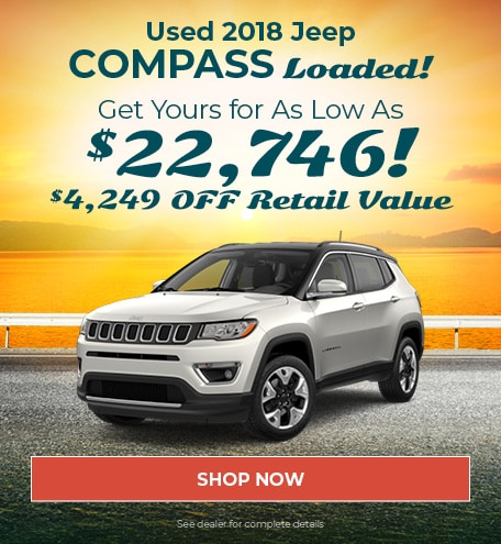 2018 Jeep Compass Loaded