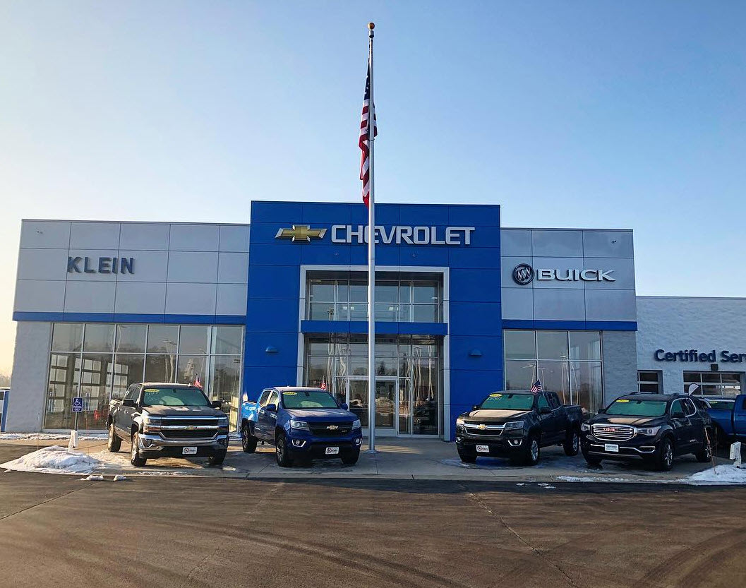 Chevy Dealers Near Me >> Chevy Dealer Clintonville Wi Klein Automotive