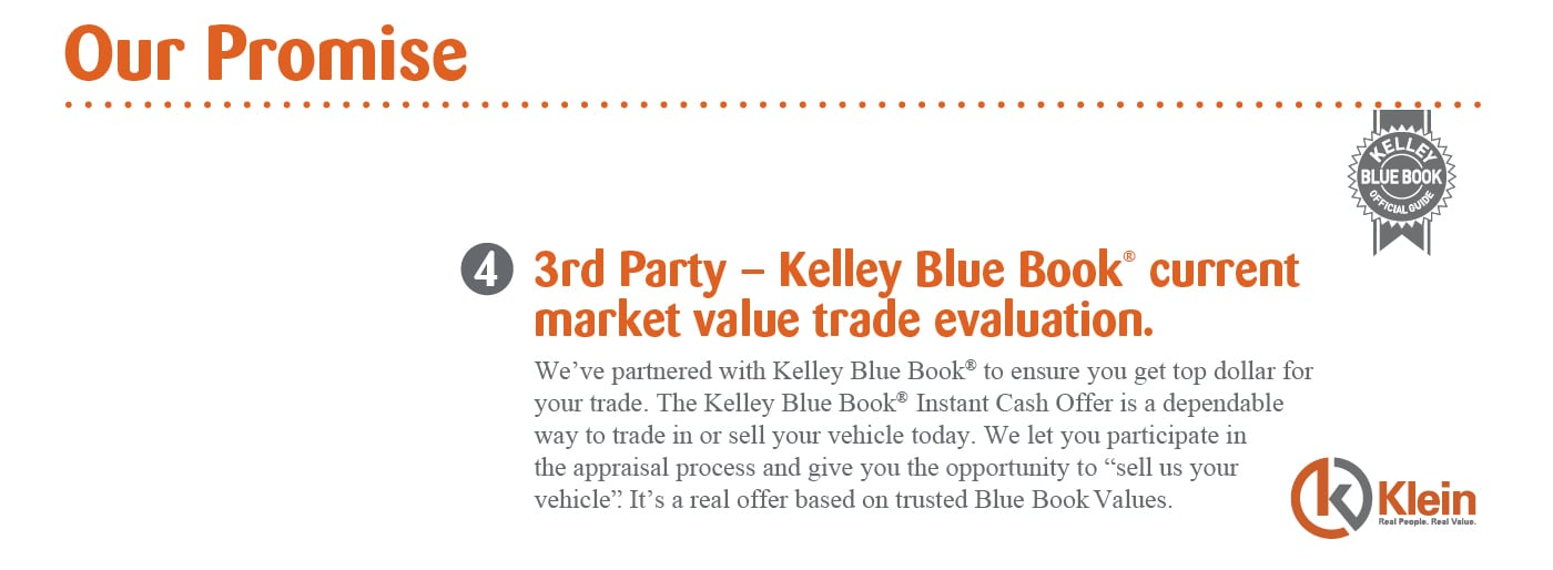 Car Trade Evaluation Clintonville Wi Klein Auto