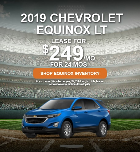 April 2019 Chevrolet Equinox Lease