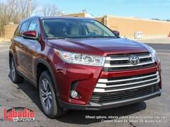 New 2019 Toyota Highlander XLE V6 SUV