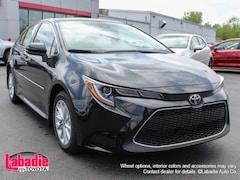 New 2020 Toyota Corolla XLE Sedan