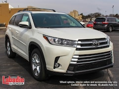 New 2019 Toyota Highlander Limited V6 SUV