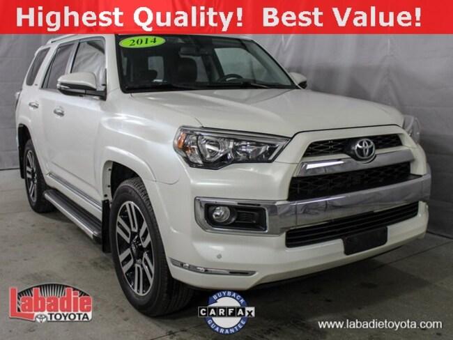 2014 Toyota 4Runner Limited SUV