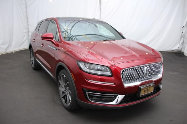New 2019 Lincoln Nautilus Reserve SUV for sale in Olympia WA